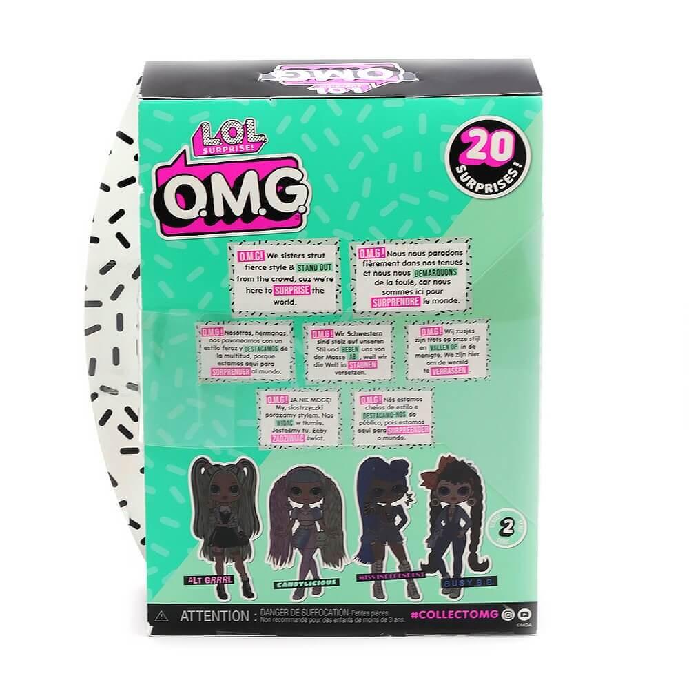 Большая кукла LOL Surprise OMG Candylicious Fashion Doll с 20 сюрпризами - 5