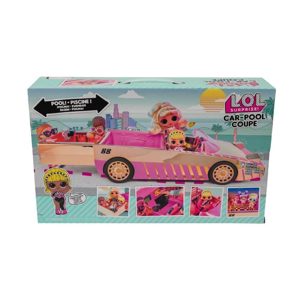 Кукла LOL Surprise Car-Pool Coupe with Exclusive Doll (Автомобиль с бассейном и кукла ЛОЛ) - 2