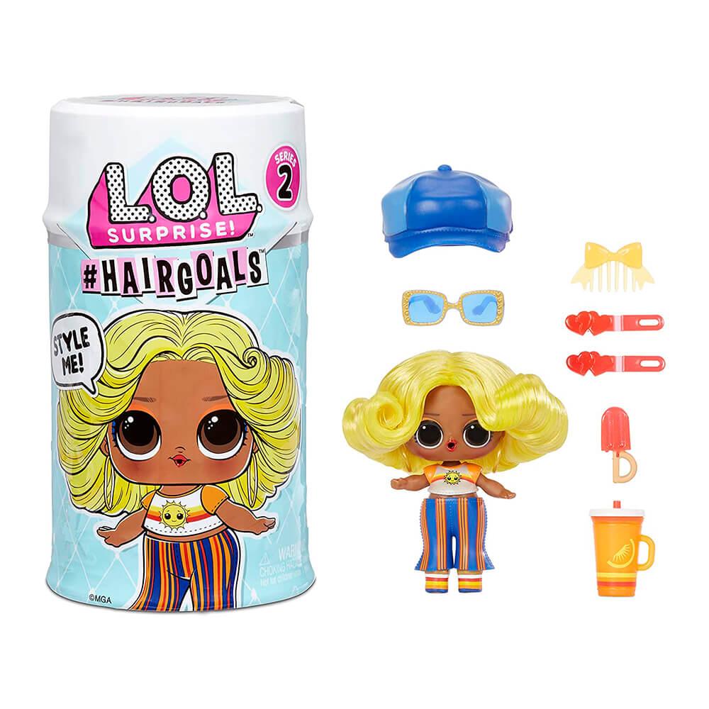 Кукла LOL Surprise Hairgoals Makeover (ЛОЛ Хеиргоалс с волосами) 2 серия (оригинал)